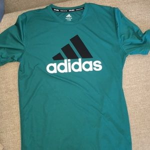 Adidas climalite youth 16/18 teal green GUC!